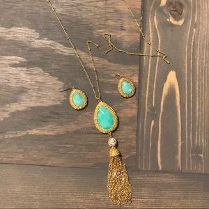 Lilly Pulitzer Sea Urchin Necklace and Earrings